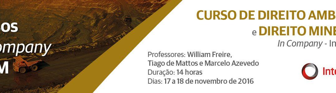 Curso de Direito Minerário e Direito Ambiental–In Company | InterCement