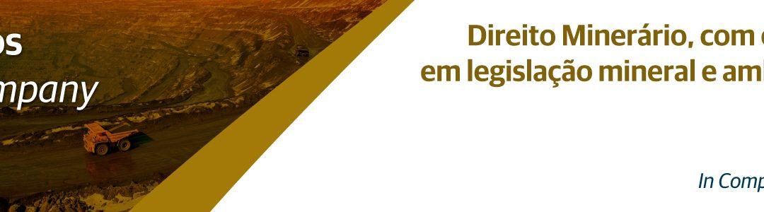 Curso de Direito Minerário, com ênfase em legislação mineral e ambiental – In Company | CRH