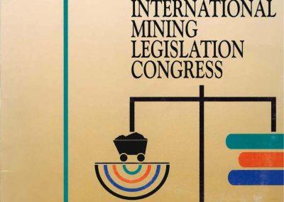 Congresso Internacional de Legislação Minera – International Mining Legislation Congress