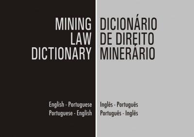 Mining Law Dictionary -Dicionário de Direito Minerário
