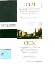 CFEM – Financial Compensation for the Exploration od Mineral Resources – Legal Nature and Related Inssues